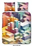 Good Morning! Bettwäsche Cubes Renforcé bunt Größe 155x220 cm (80x80 cm)