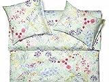 Bloom Bettwäsche von Schlossberg Satin Finesse - 135 x 200 Deckenbezug - in limette