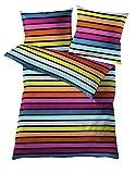 Kleine Wolke 6109148954 Bettwäsche Rimini, 135 x 200 cm, Farbe Multicolor