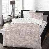 Schlafgut Soft-Touch Cotton Bettwäsche Esperanza marzipan 135x200 cm + 80x80 cm